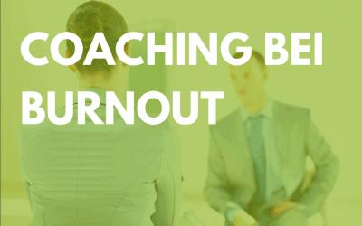 Coaching bei Burnout